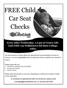 car seat checks 2016